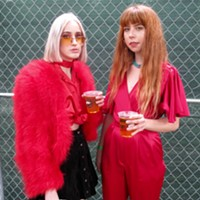 Photos of Pitchfork Fest's most fashionable people on Friday