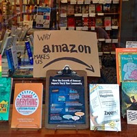 Local booksellers brace themselves for the opening of the Amazon Store