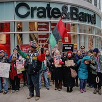 Activists disrupt Black Friday shopping on Chicago's Mag Mile