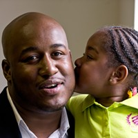 By helping young black fathers, Sheldon Smith has become a 'hero'