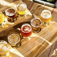Whiner Beer's taproom inside the Plant serves beer that's wild, sour—and not at all scary