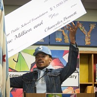 Chance the Rapper donates $1 million to CPS, and other Chicago news