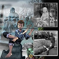 Indie comic <i>Visitations</i> is haunted by the history and lore of Chicago cemeteries