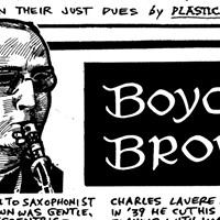 Hot jazz saxophonist Boyce Brown ended his career as a Servite monk