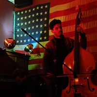 New York bassist Brandon Lopez brings a bruising physicality to his improvisational playing