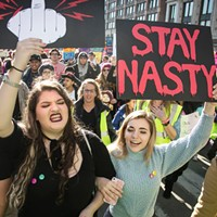 <em>Nasty Women</em> attempts to sum up what it's like to be a feminist in Trump's America