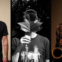 Three local improvisers converge for the first time