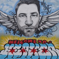 Graffiti artists pay tribute to beloved underground rapper Mic One