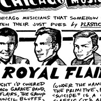 Sixties garage rockers the Royal Flairs are best remembered for the macabre single 'Suicide'