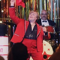 Jack Black is a delightful singing con man in <i>The Polka King</i>