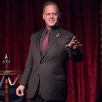 Magician Neil Tobin's cemetery performance will give you life