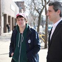 Actor Jesse Eisenberg jumps (awkwardly) into politics after living under the radar in Indiana