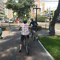 Lima's beautiful boulevard bike paths could be a hit in Chicago
