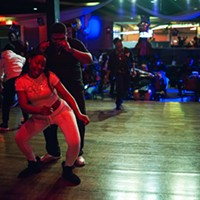More rockin' scenes from the Taste, the oldest black-owned club in the city