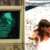 Taralie Peterson of Spires That in the Sunset Rise and Chicago noise veteran Andy Ortmann celebrate new albums