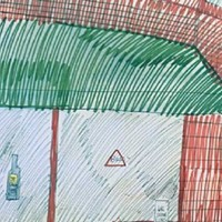 You can (almost) buy Wesley Willis's drawing of Quenchers