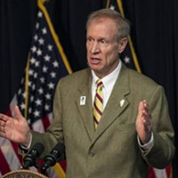 If Rauner loves African-Americans, he's got a funny way of showing it