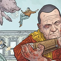 The hard-to-find first arc of <i>The Shaolin Cowboy</i> is back!