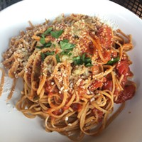 Eating elsewhere: of cow tongue Reubens and fresh pasta at Raduno, in Traverse City, MI