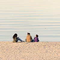 Who needs summer lakefront crowds when there's September on the beach?