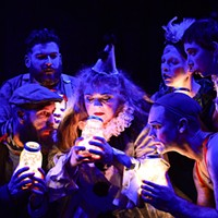 <i>Burning Bluebeard</i> commemorates the Iroquois Theatre catastrophe with music, dancing, clowning, and acrobatics