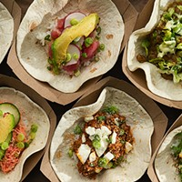 Arigato Market slings tacos with a side of beef