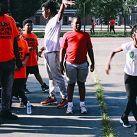 Open the Circle teaches footwork because footwork saves lives