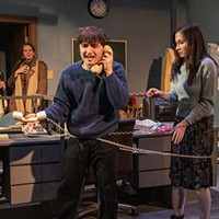 <i>Cold Town/Hotline</i> can't overcome its preposterous premise