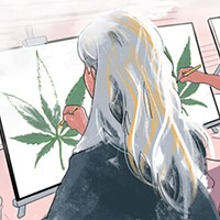 Communing with cannabis—underground