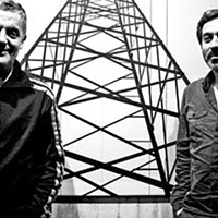 On Yannis Kyriakides and Andy Moor's <i>Pavilion</i>, the musicians are also the exhibit