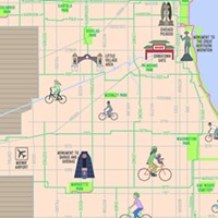 The Simplified, Citywide Mellow Chicago Bike Map