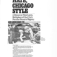 Hate, Chicago style