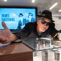 Hit it!—the new Blues Brothers weed, that is