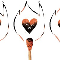 The emotional arsonist is just not that into your body