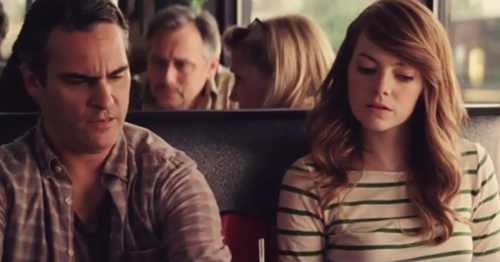 Phoenix stars with Emma Stone in Irrational Man.