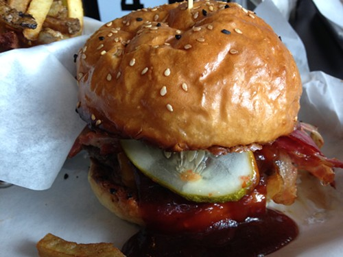 Easy Rider at Brgrbelly, the former Leadbelly - MICHAEL GEBERT