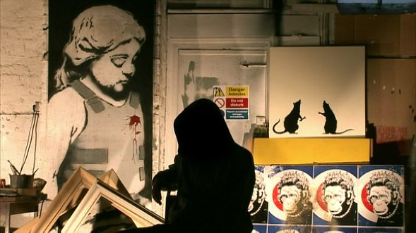 Banksy in Exit Through the Gift Shop