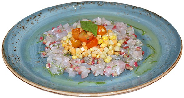 Pineapple sage tartare - JULIA THIEL