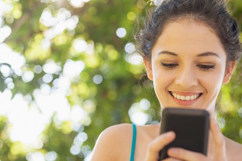 """My phone is my favorite person."" - THINKSTOCK"
