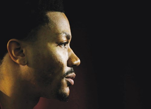 No, Robert Silverman, Derrick Rose isn't the NBA's Bill Cosby. - AP PHOTO/CHARLES REX ARBOGAST