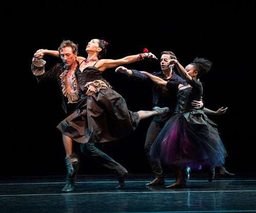 Lar Lubovitch Dance Company in The Black Rose - YI-CHUN WU