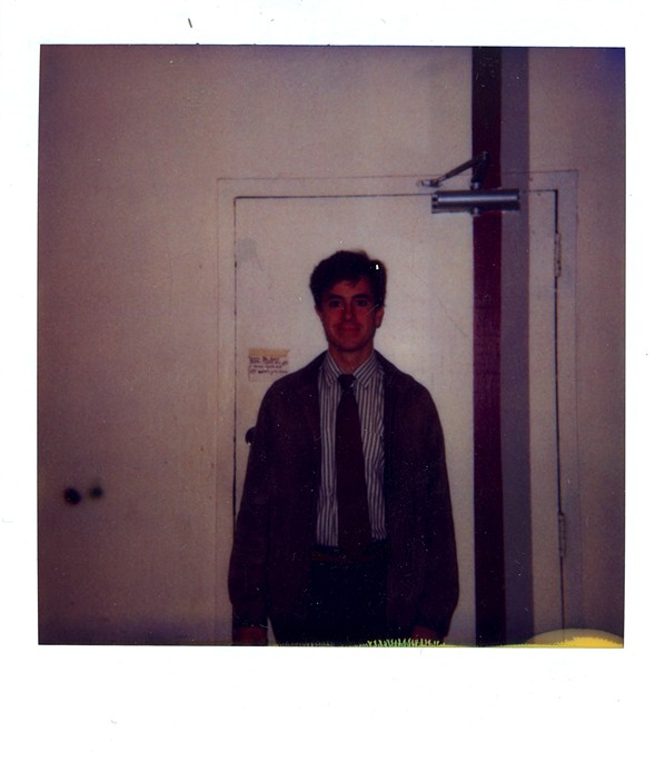 Colbert in 1987 at the Second City Training Center - COURTESY OF SECOND CITY