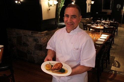 Chef David DiGregorio of Osteria via Stato - MICHAEL GEBERT