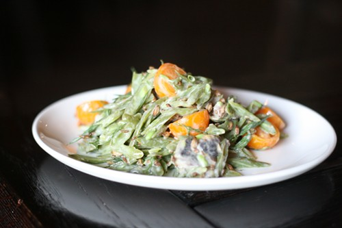 Fermented long bean salad - JULIA THIEL