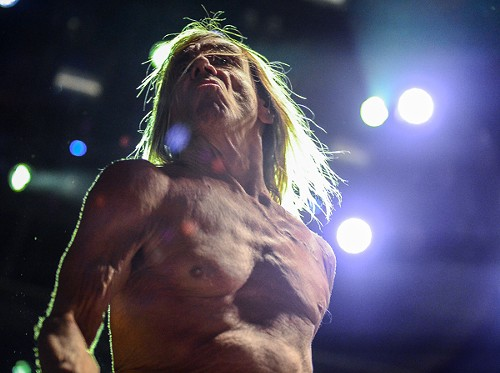 If Iggy Pop were just 40 feet taller, he could get work as a stand-in for Iron Maiden's Eddie the Head. - BOBBY TALAMINE
