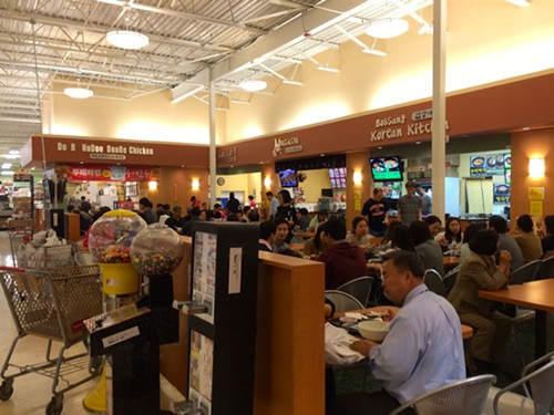 Assi Plaza food court in Niles - MIKE SULA