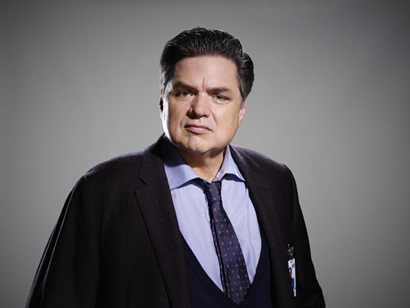 Oliver Platt plays Dr. Daniel Charles, head of psychiatry at Chicago Med - COURTESY NBC