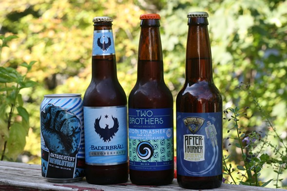 The local beers, minus the three late arrivals - JULIA THIEL