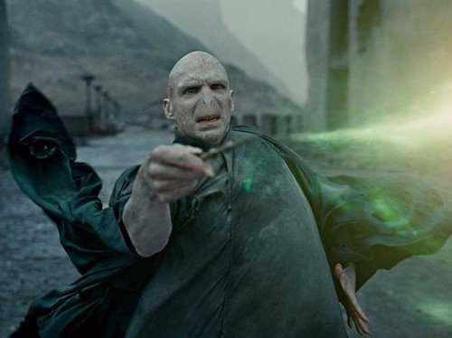 Lord Voldemort, dark wizard and muse to Muggle Death Camp - COURTESY WARNER BROTHERS PICTURES