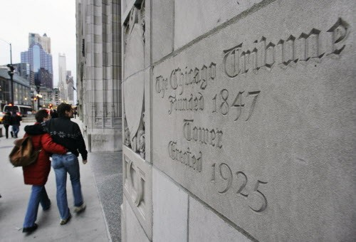 """Tribune"" Tower no more? - AP PHOTO/M. SPENCER GREEN"